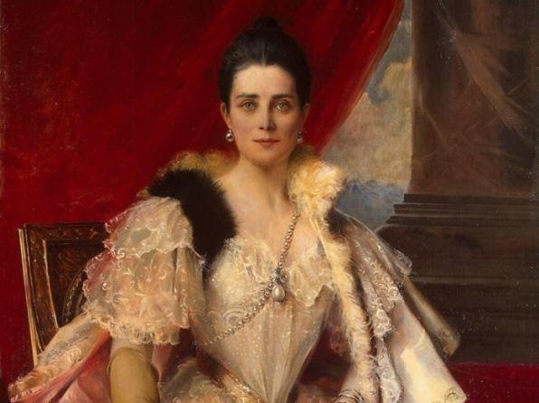 Зинаида Николаевна Юсупова (портрет Франсуа Фламенга)