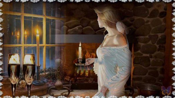 Борис Пастернак — Зимняя ночь (Свеча горела на столе)