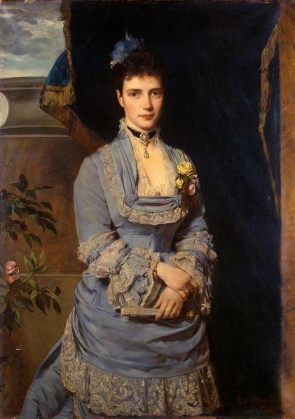Императрица Мария Федоровна (художник Генрих фон Ангели)