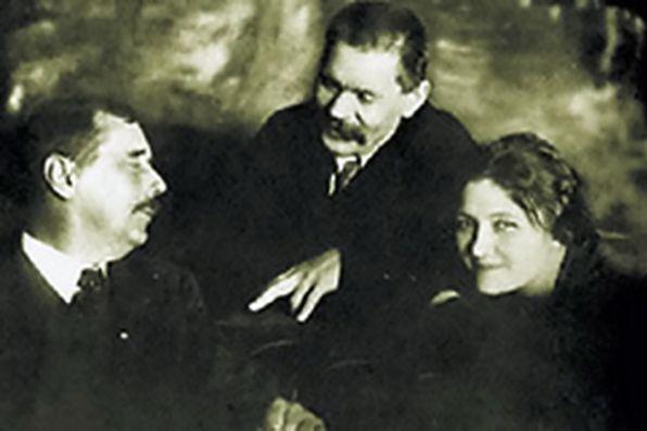 Максим Горький, Герберт Уэллс и Мария Будберг