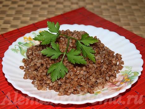 Гречка на гарнир рецепт с фото пошагово