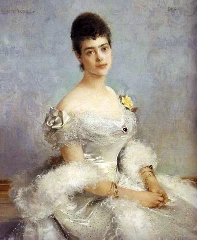 Великая княгиня Ксения Александровна (художник Фрасуа Фламенг)