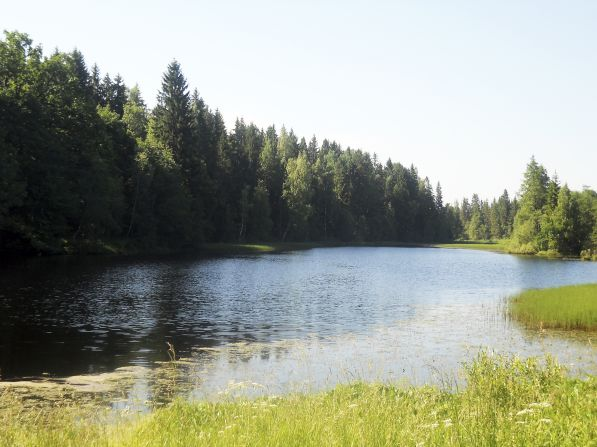 Графское озеро в селе Татево