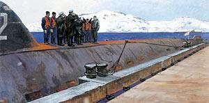 кругосветный поход советских подводных лодок в